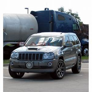 Jeep Grand Cherokee White Led Halo Fog Light Kit  2005