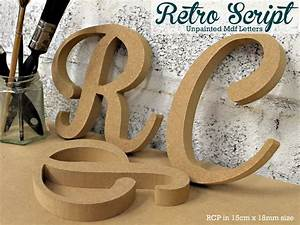 17 best images about unpainted mdf craft letters on With script wood letters michaels