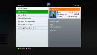 Xbox 360 How To Change Your Gamer Profile Name And
