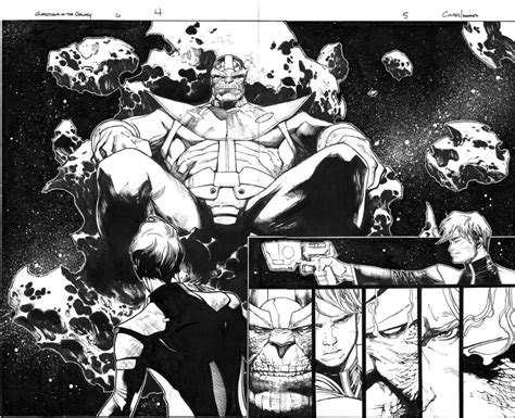 guardians of the galaxy issue 6 pgs 4 and 5 dps thanos