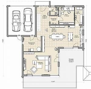 Moderne Häuser Mit Grundriss : coller grundriss f r ein doppelhaus mit garage dazwischen moderne h user pinterest ~ Bigdaddyawards.com Haus und Dekorationen