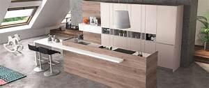 Plancha Haut De Gamme : cuisine contemporaine zaho alicante d cor bois haut de ~ Premium-room.com Idées de Décoration