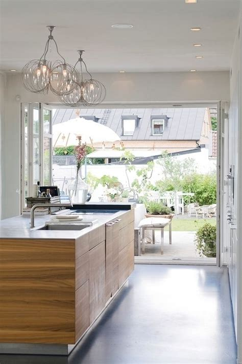 Summer Must: 35 Adorable Kitchens Open To Outdoors   DigsDigs