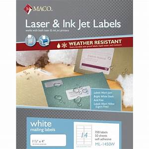 label supply hut With maco laser and inkjet labels template