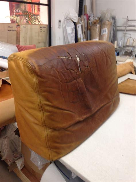 renovation canape cuir réfection d 39 un canapé en cuir au fil des matières