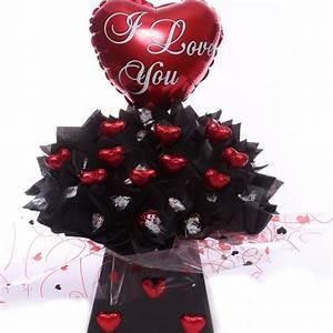 Lindor Valentine's chocolate bouquet.