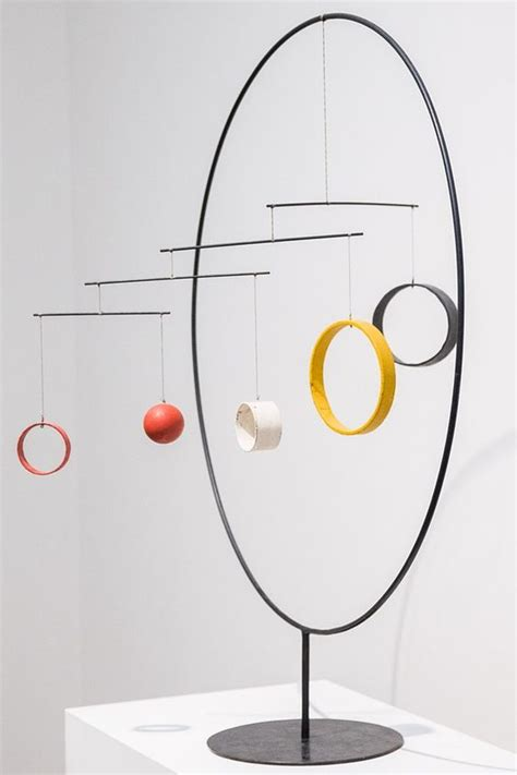 Calder Mobile Sculptures by Calder Mondrian And Constellations On
