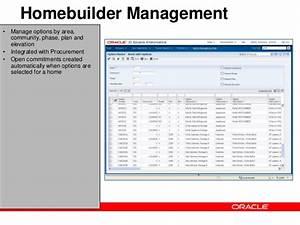 Jd Edwards Enterpriseone Homebuilder Management