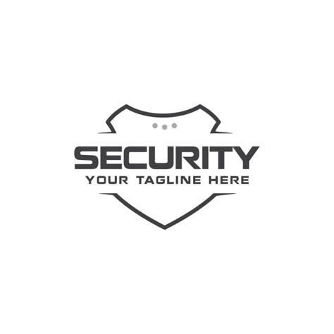 modern security logo vector free download