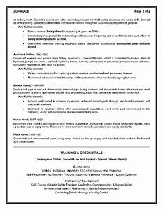 Canadian Resume Example Example Of A Oilfield Consultant Resume Sample