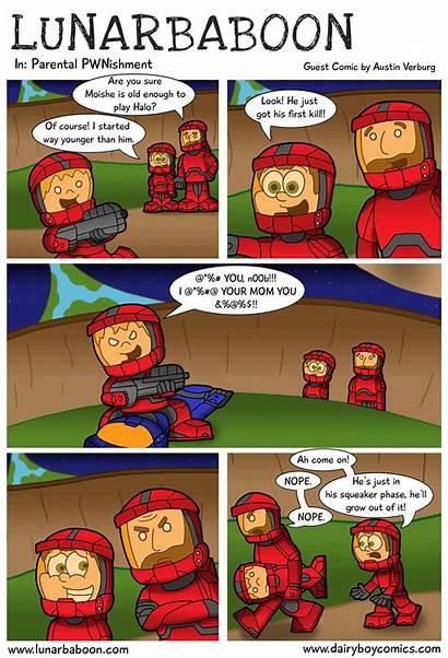 Halo Comics Comic Funny Games Strips Cartoons