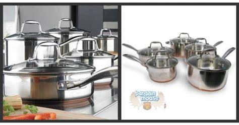 sears canada   kenmore copper bottom cookware set
