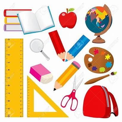 Ruler Clipart Objects Student Various Scuola Scolastico