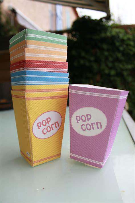 pot 224 pop corn photo de papier papier caillou ciseaux le