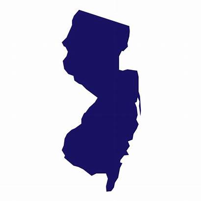 Jersey State States Nj Transparent Newjersey Colleges