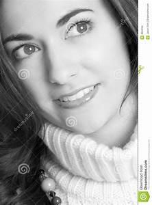 Fille Noir Et Blanc : femme noir et blanc photo stock image 3634190 ~ Melissatoandfro.com Idées de Décoration