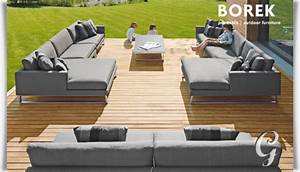 Outdoor Möbel Lounge : design gartenlounge couch modul serano ~ Indierocktalk.com Haus und Dekorationen