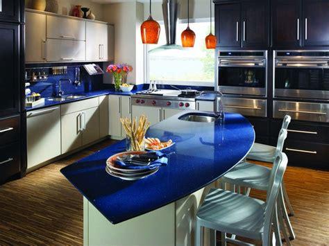 blue sparkle quartz kitchen   blue countertops blue granite countertops silestone