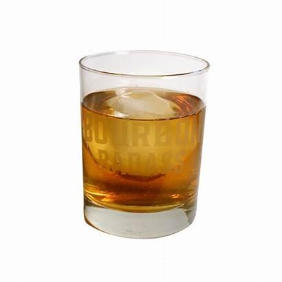 Rocks Bourbon Glass Badass Square Whiskey
