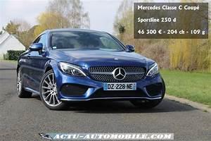 Nouvelle Mercedes Classe C : essai nouvelle mercedes classe c coup 250d sportline ~ Melissatoandfro.com Idées de Décoration