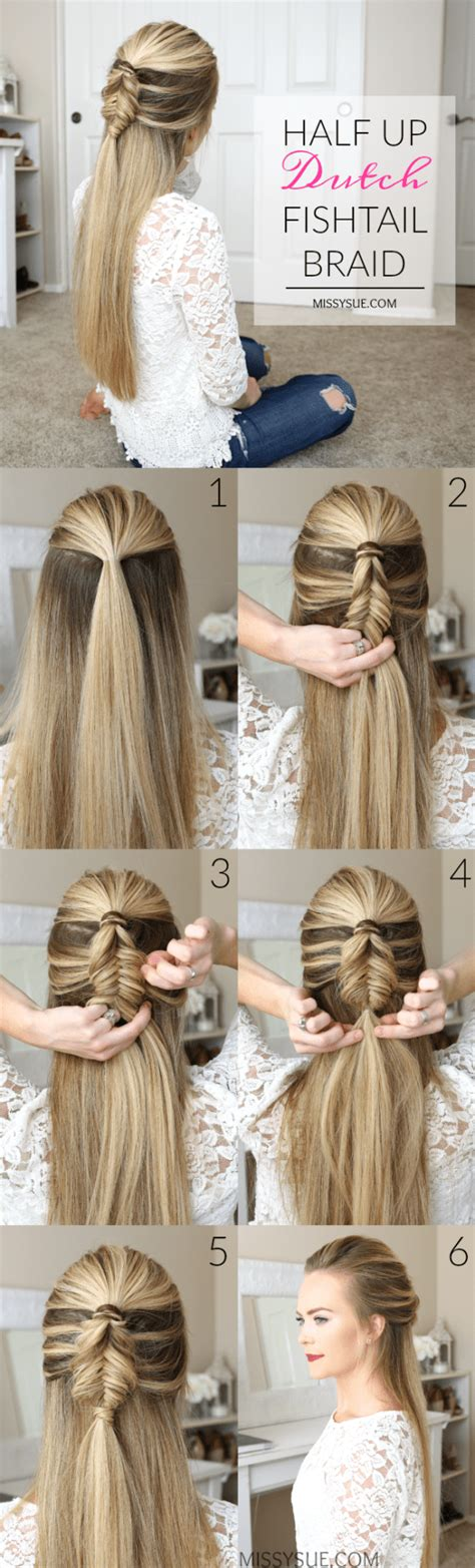 ready in 5 minutes easy hairstyles for trendy girls