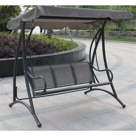 Garden Shade Canopy by Garden Swing Bench With Canopy Shade Savvysurf Co Uk
