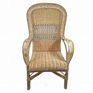 Fauteuil Haut Dossier : fauteuil en osier haut dossier la vannerie d 39 aujourd 39 hui ~ Teatrodelosmanantiales.com Idées de Décoration