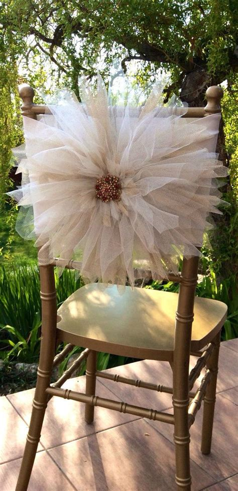2 pieces wedding chair coverbeautiful flower by