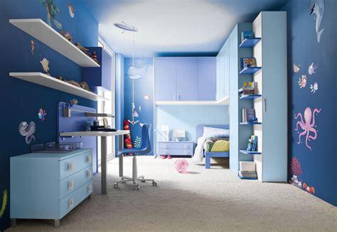 boys room blue 15 beautiful dark blue wall design ideas