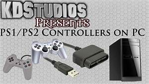 Using Ps1 Or Ps2 Controllers On The Pc - Ps To Usb