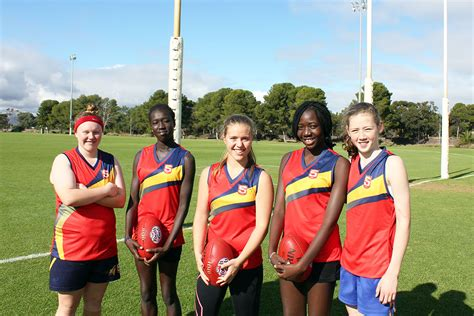 Africanaustralian Girls To Represent Sa In Aussie Rules