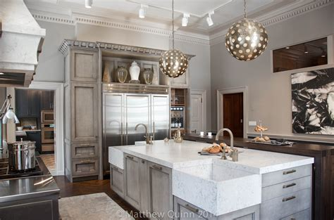 two sinks in the kitchen matthew quinn kips bay decorator show house kitchen trader 8607