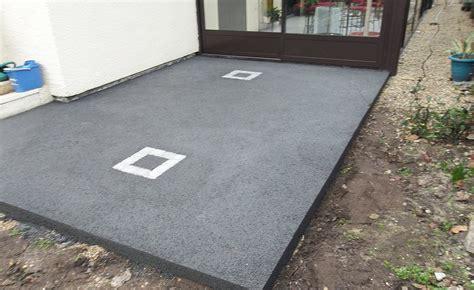 terrasse beton prix