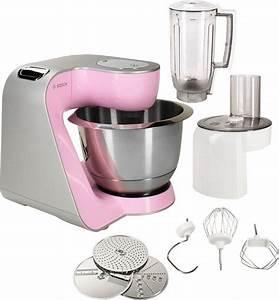 Bosch Küchenmaschine Rosa : bosch k chenmaschine creationline mum58k20 1000 watt mit viel zubeh r online kaufen otto ~ Indierocktalk.com Haus und Dekorationen