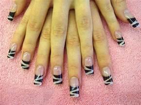 Zebra nail designs acrylic nails tattoos photos design gallery