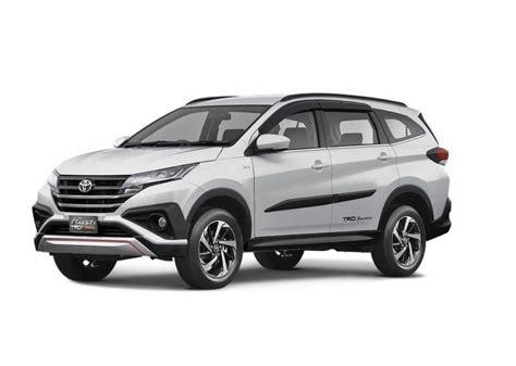 toyota rush unveiled price engine specs features