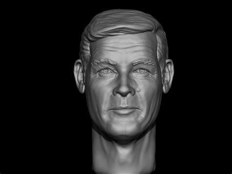 roger moore print roger moore for 3d printing