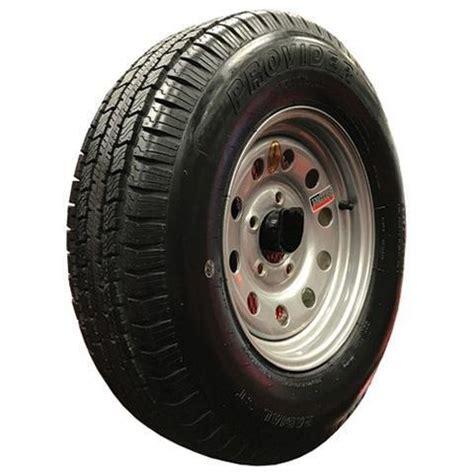 goodride   ply radial trailer tire wheel st   lug silver mod tk trailer parts