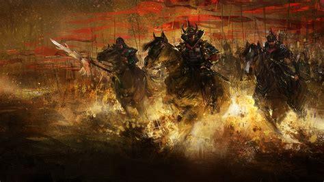 samurai full hd wallpaper  background  id