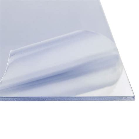 cast acrylic plastic sheet 472 quot 1 2 12 quot 36 quot clear