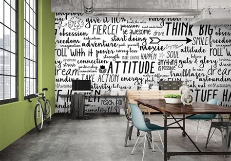 Decorating your walls with tapestries. Word Walls | Level Digital Wallcoverings