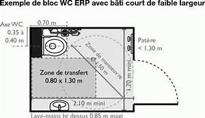 Largeur Porte Pmr : installer une cuvette suspendue pour des sanitaires am nag s que choisir ~ Melissatoandfro.com Idées de Décoration
