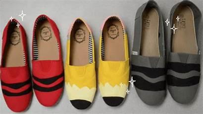 Shoes Pencil Teacher Diy Crayon Shoe Less