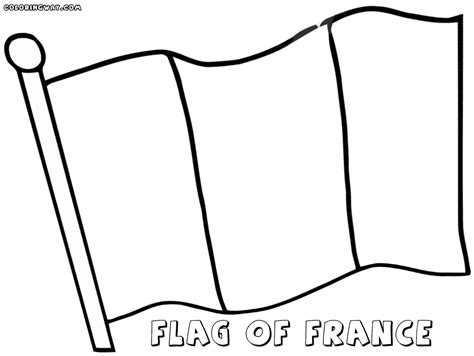 french flag coloring pages coloring pages