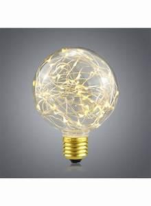 Ampoule Led Design : ampoule led design vintage avec lumi re de corde pour un clairage d coratif ~ Melissatoandfro.com Idées de Décoration
