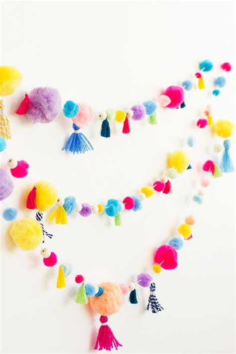 fun  easy diy pom pom crafts