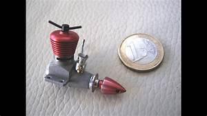 Micro Diesel Model Engine 0 098 Cc For Mini Rc Plane