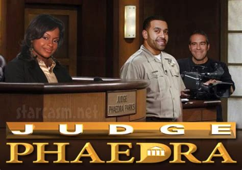 phaedra parks   judge judy esque legal spin