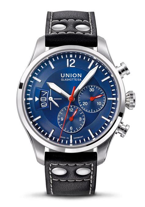 union glashütte uhren union glash 252 tte sa belisar pilot chronograph automatikuhr nur 2 680 00