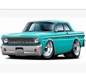 64 Falcon Ford  Big Daddy & Da Car Arts Art Cars